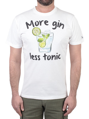 t-shirt mc2 saint barth fun tonic bianco