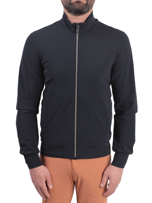 jacket rrd - roberto ricci designs summer fleece zip blue