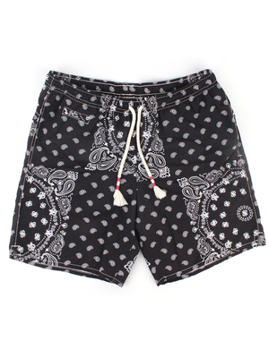 swim trunkmc2 saint barth fantasy bandana nero