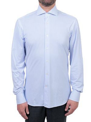 shirt orian technical fabric blue