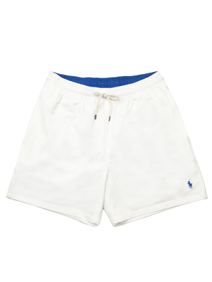 swim trunk polo ralph lauren white