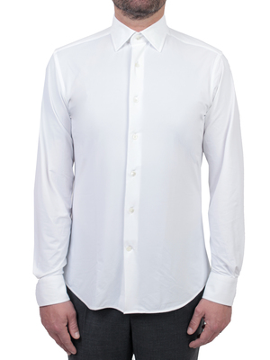 shirt traiano milano borghese radical fit white